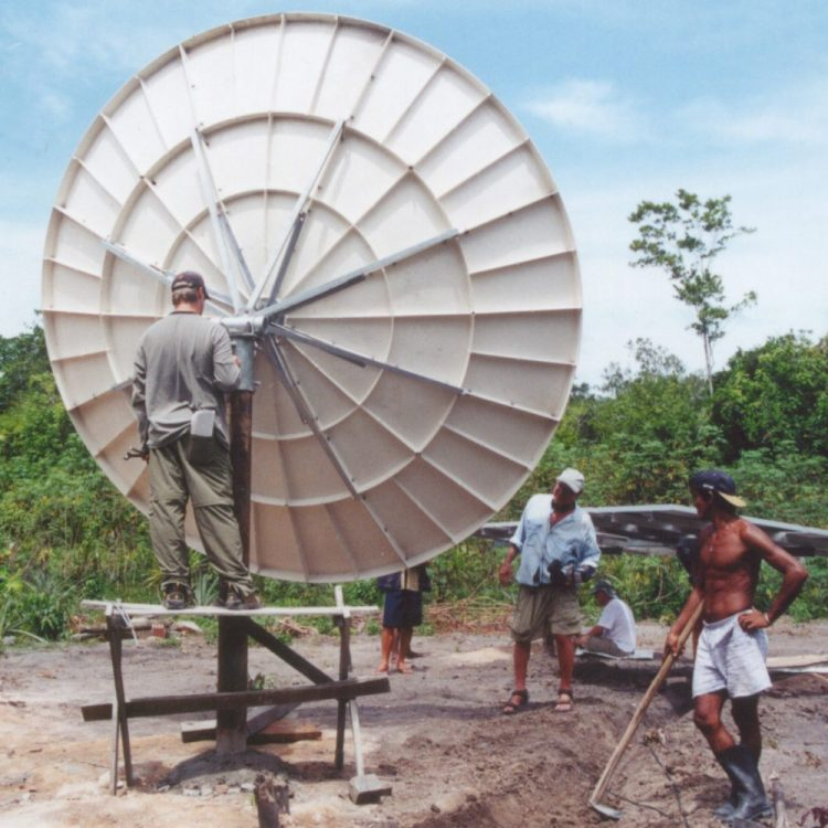 Bringing power and connectivity to the Amazon rain forest