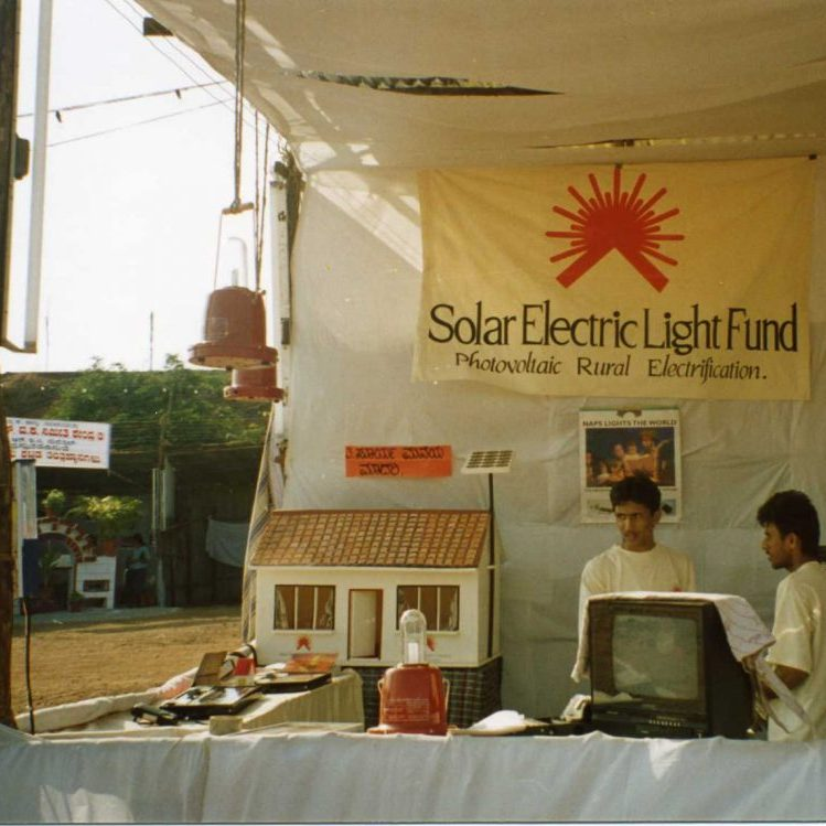Launching SELCO, India's first solar service enterprise