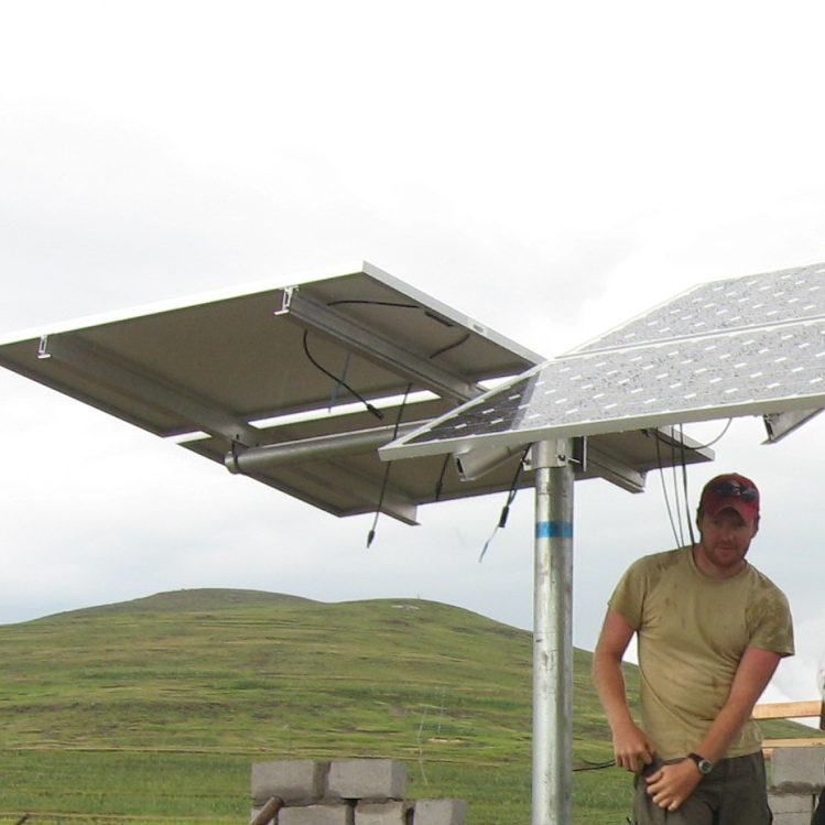 Incorporating solar power into rural health clinics